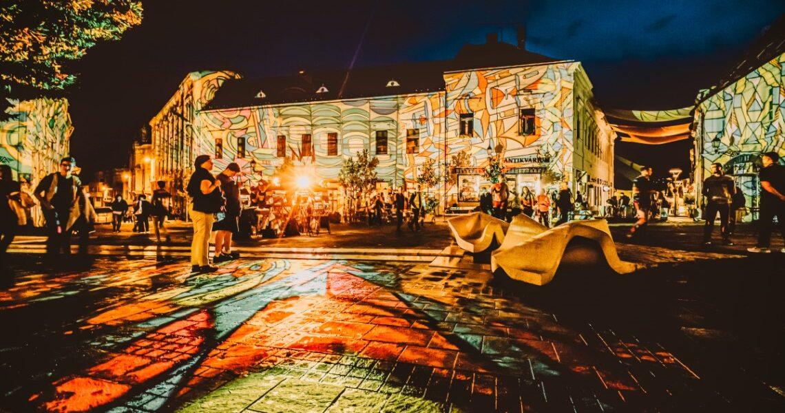 Fényfesztivál Pécs Turista