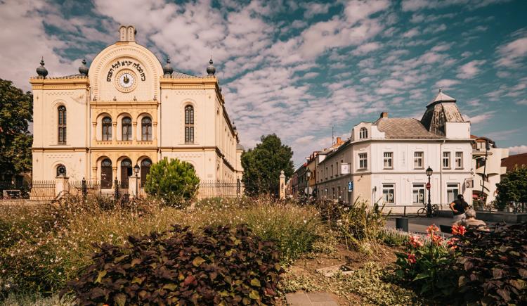Pecs Zsinagoga Virag