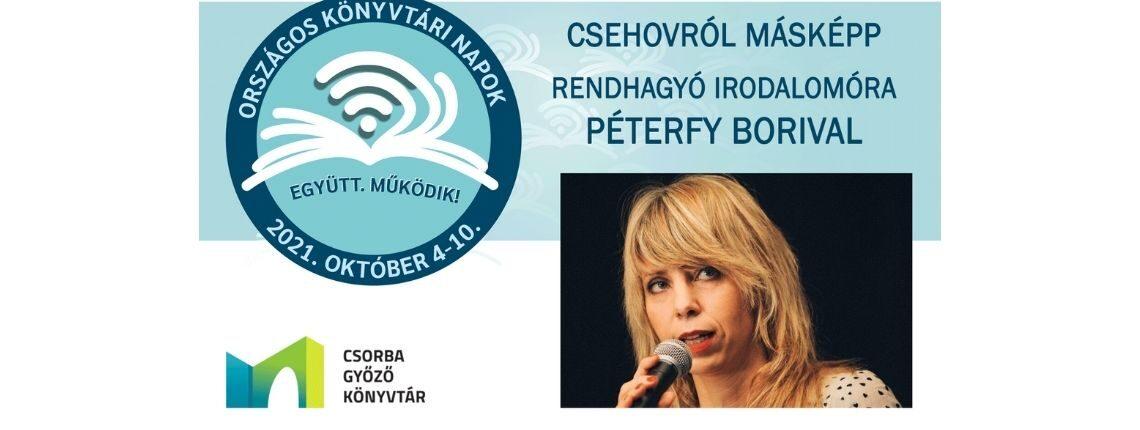 Csehovról másképp – Rendhagyó irodalomóra Péterfy Borival