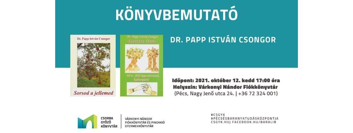 Dr. Papp István Csongor könyvbemutató