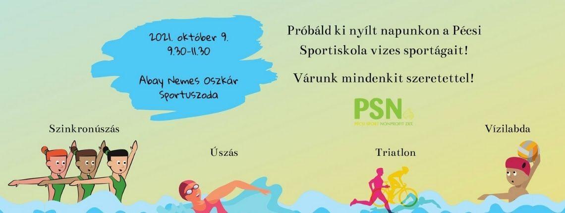Pécsi Sportiskola Sportnap a Hullámfürdőben